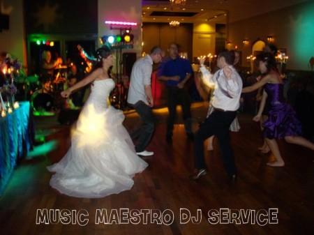 Michelle & Shawn - Bride dancing!