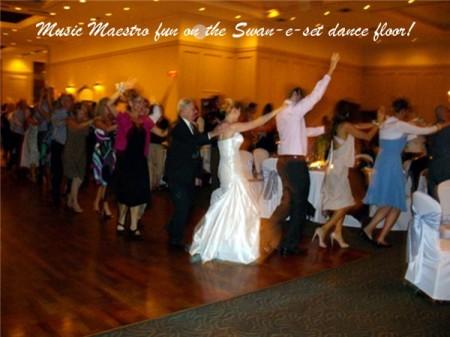 Swan-e-set Conga Line Dancing!